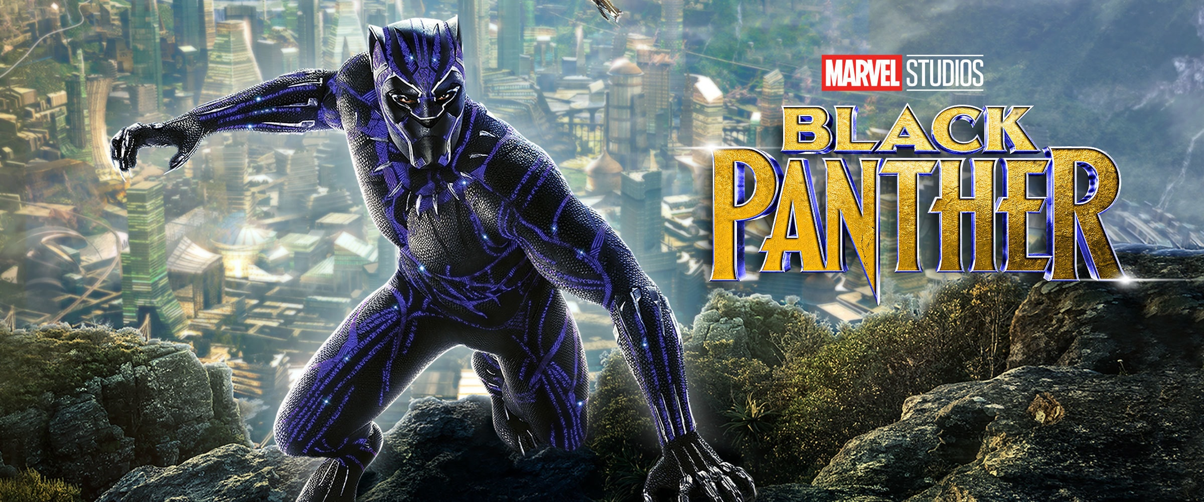 Marvel Studios' Black Panther - on Digital HD - Emea Banner