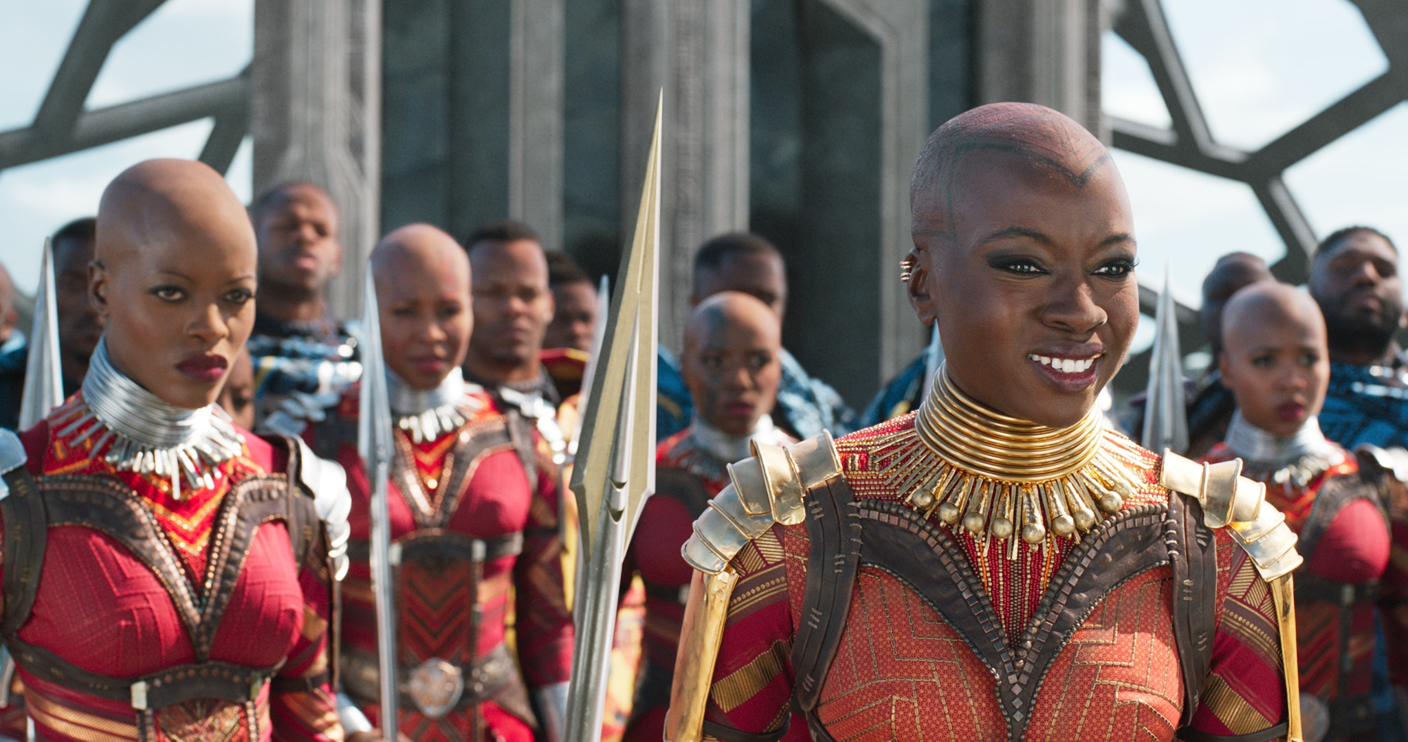 Okoye and the Dora Milaje