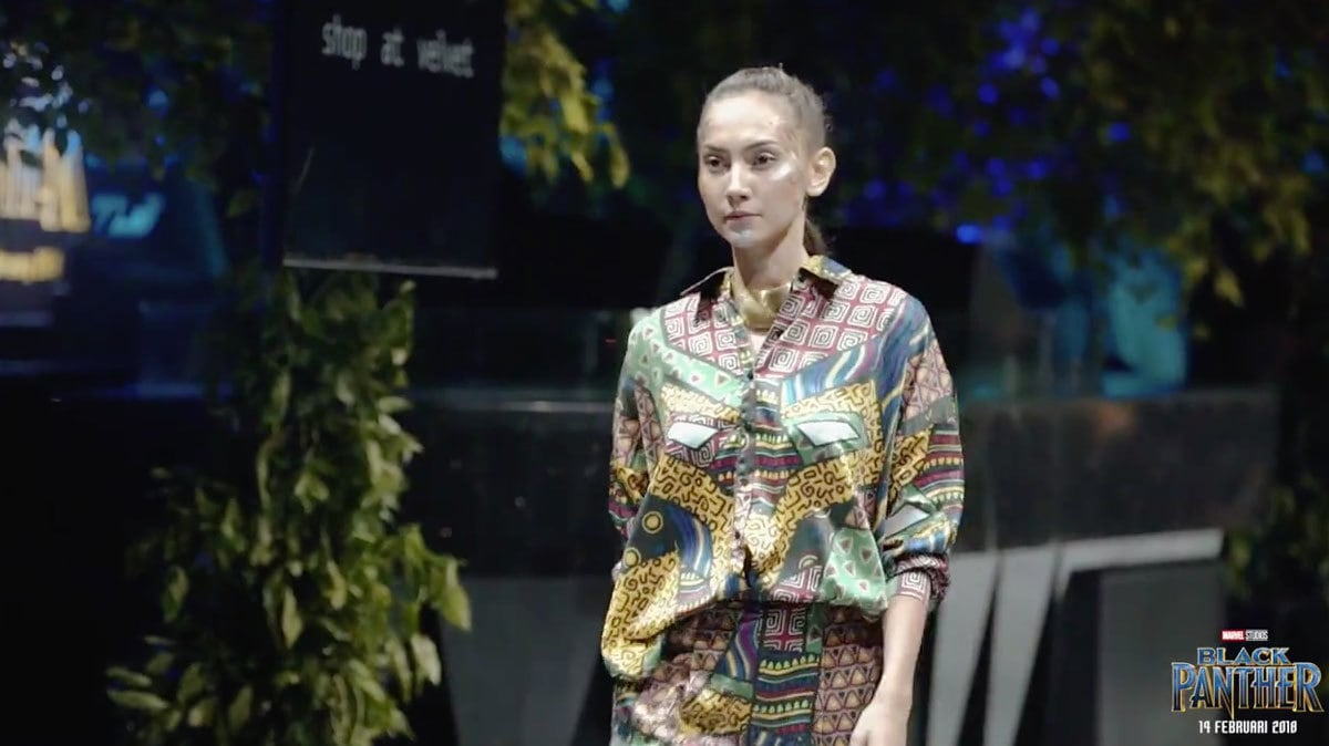 Marvel Studios' Black Panther Fashion Collaboration in Indonesia