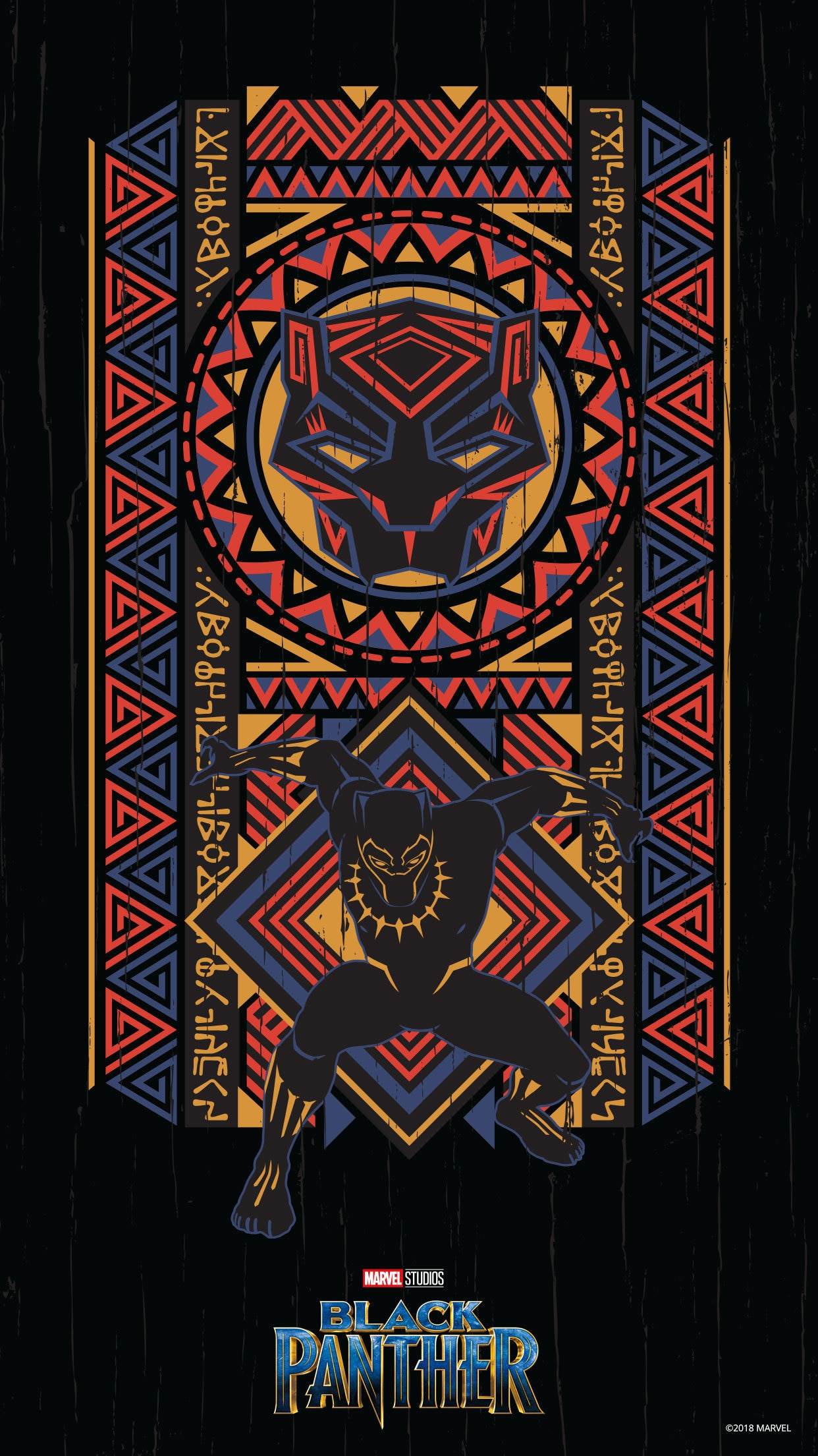 Black Panther Mobile Wallpapers Disney Movies Singapore