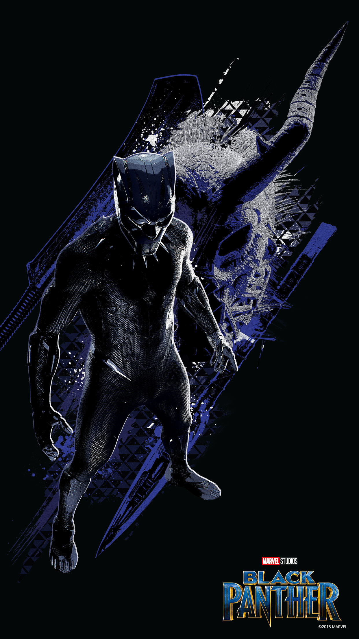 Black Panther Mobile Wallpapers Disney Movies Malaysia