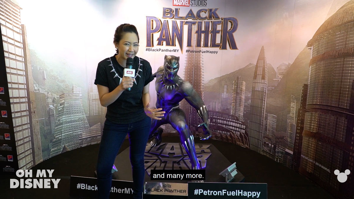 Marvel Studios' Black Panther Event in Malaysia
