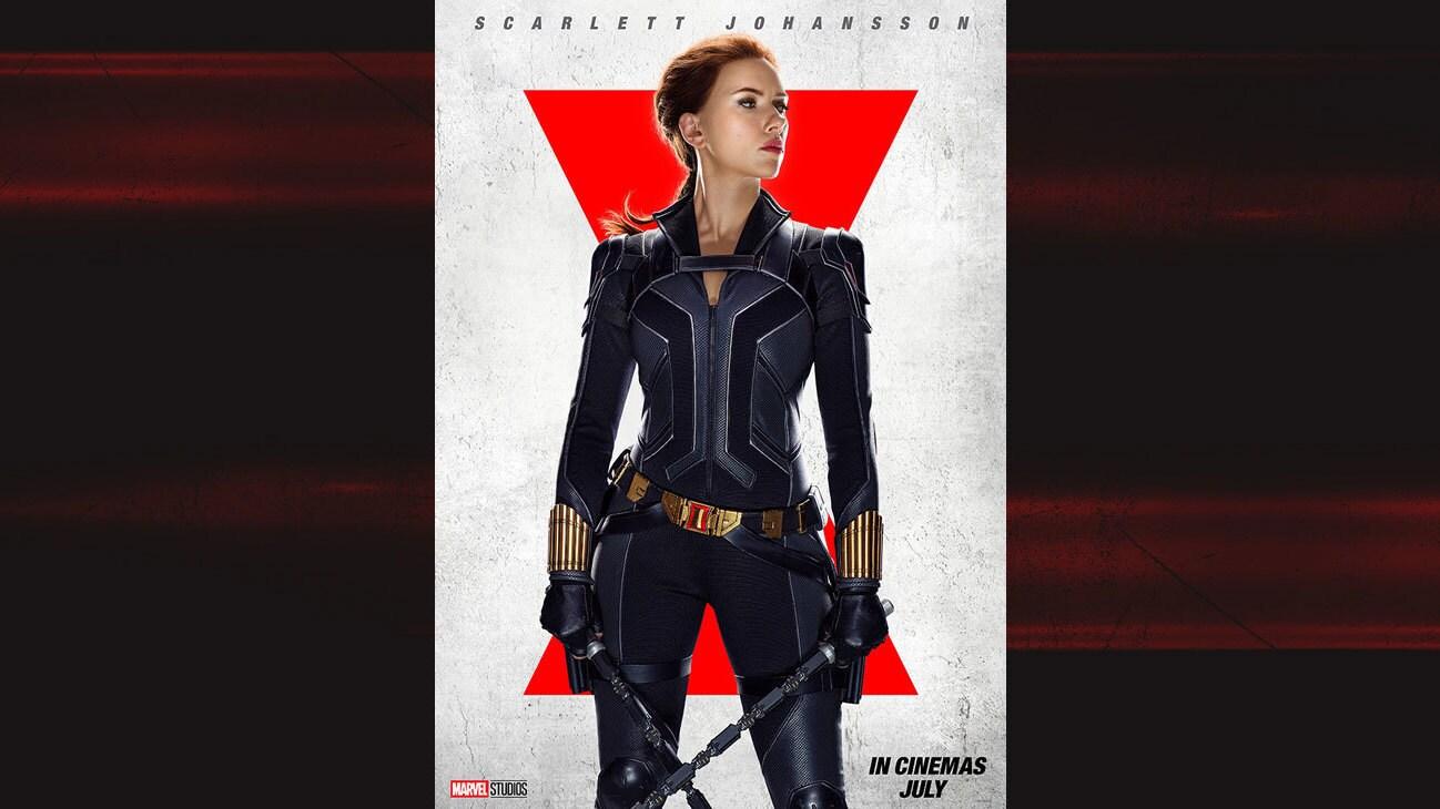 Scarlett Johansson as Natasha/Black Widow from the movie Black Widow