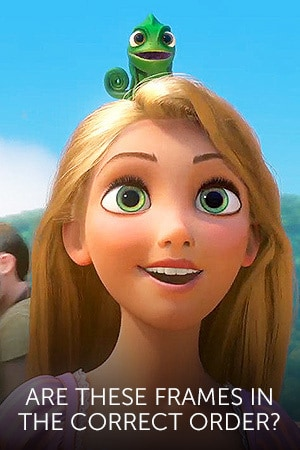 Quiz: Are These Freeze Frames from Tangled in the Correct Order?