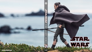 Rey on Ahch-To (Star Wars: The Black Series) Blu-ray Cover #3