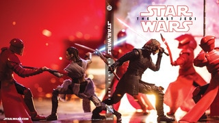 Throne Room Battle (Star Wars: The Black Series) Blu-ray Cover #1