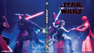 Throne Room Battle (Star Wars: The Black Series) Blu-ray Cover #2