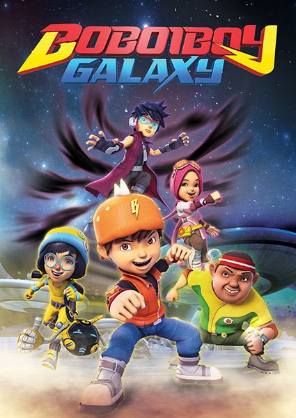Boiboiboy: Galaxy - School's Out