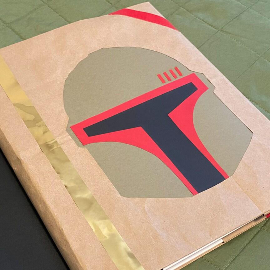 Book (Cover) of Boba Fett DIY