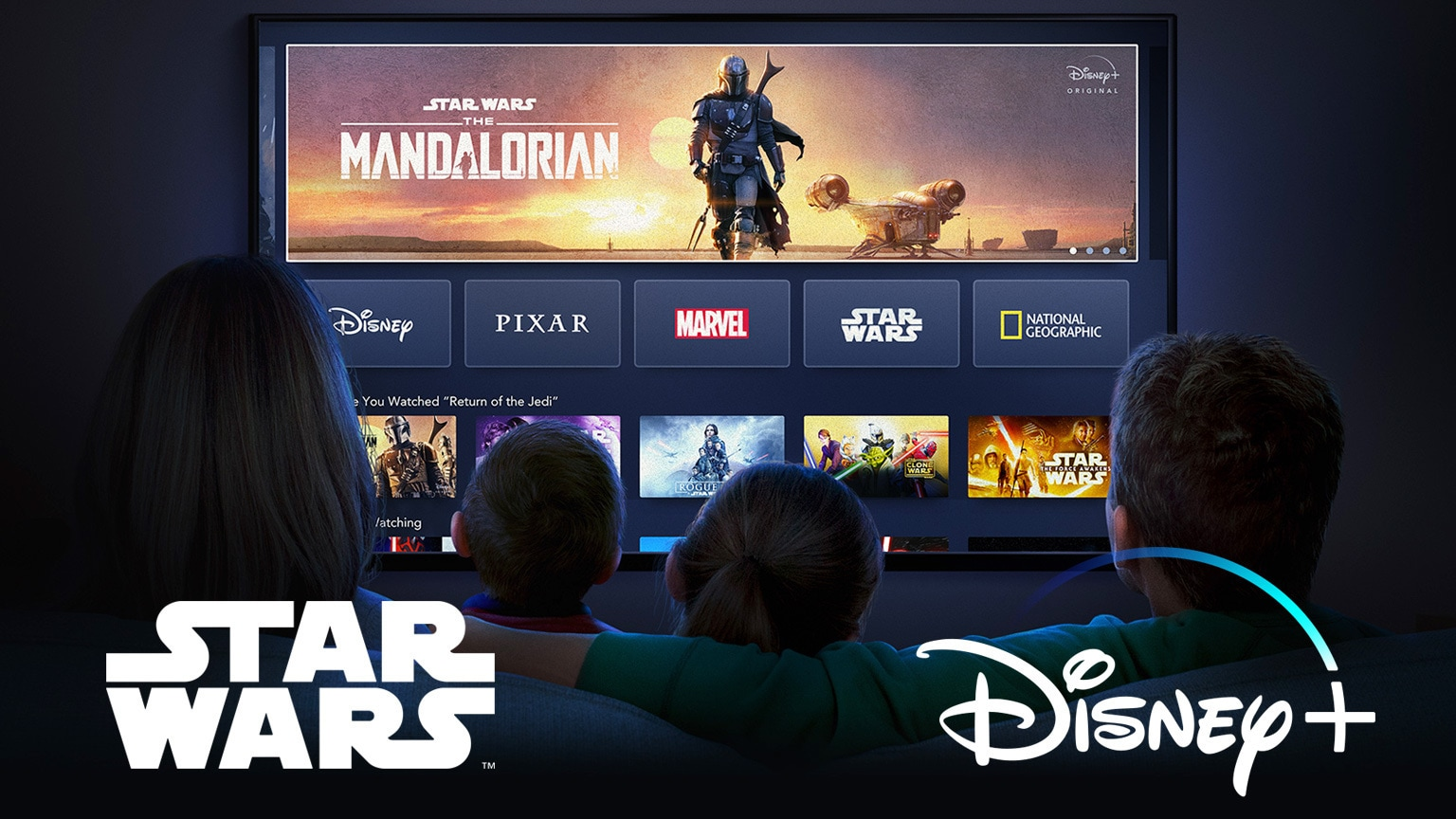 Disney+ Franchise Slider