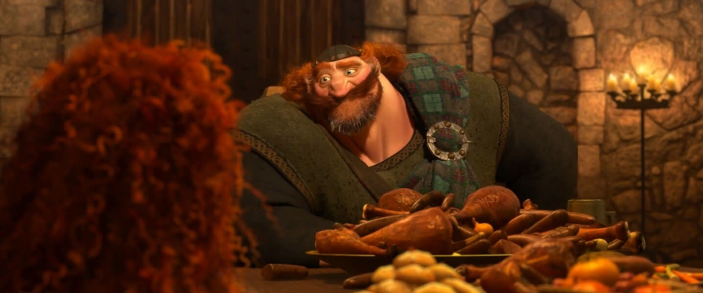 """King Fergus from the animated movie """"Brave"""""""