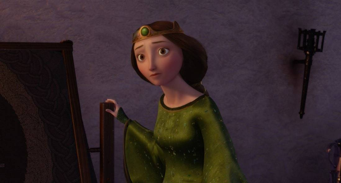 """Queen Elinor from the animated movie """"Brave"""""""