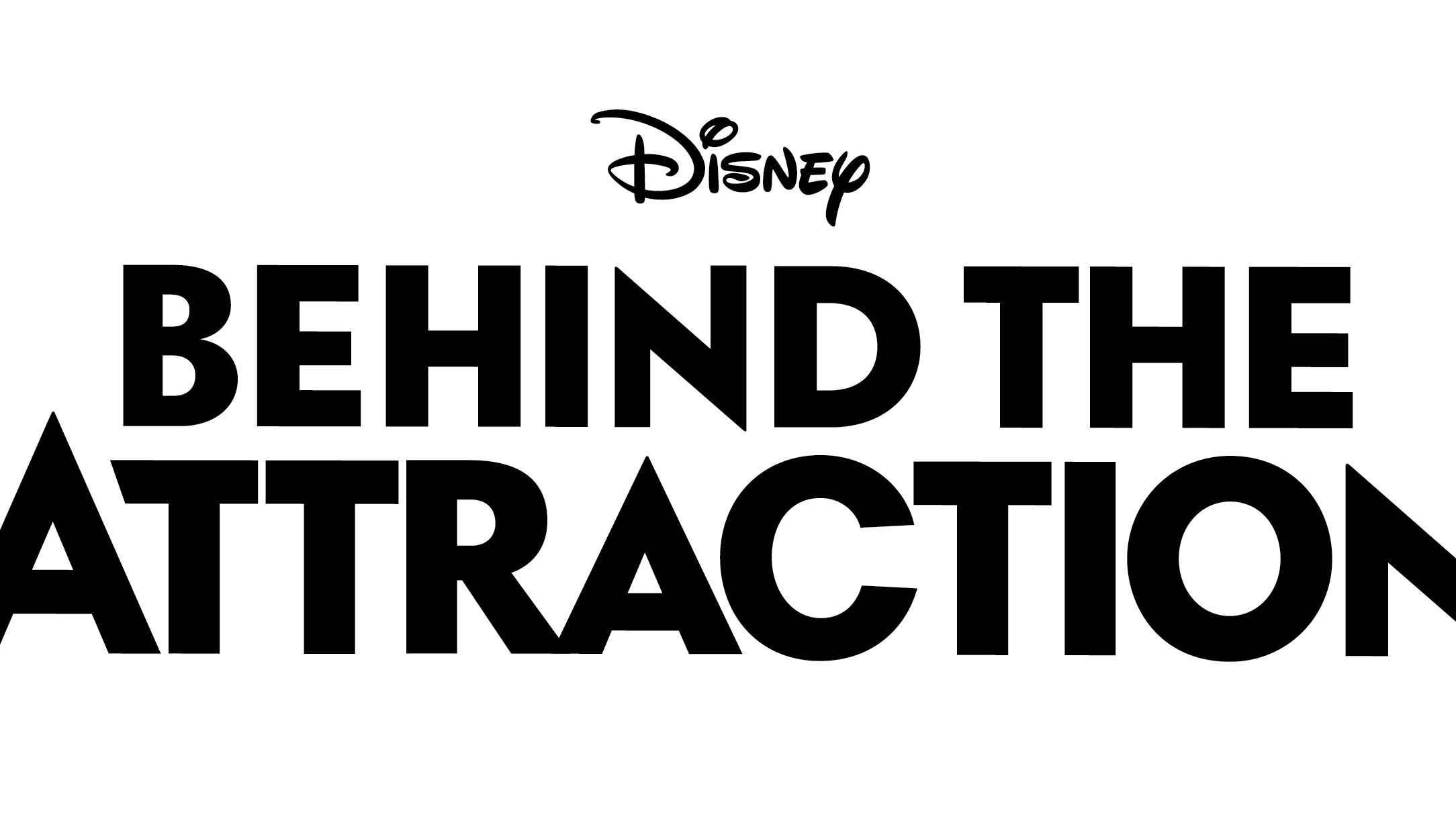 Behind the Attraction Logo - Black