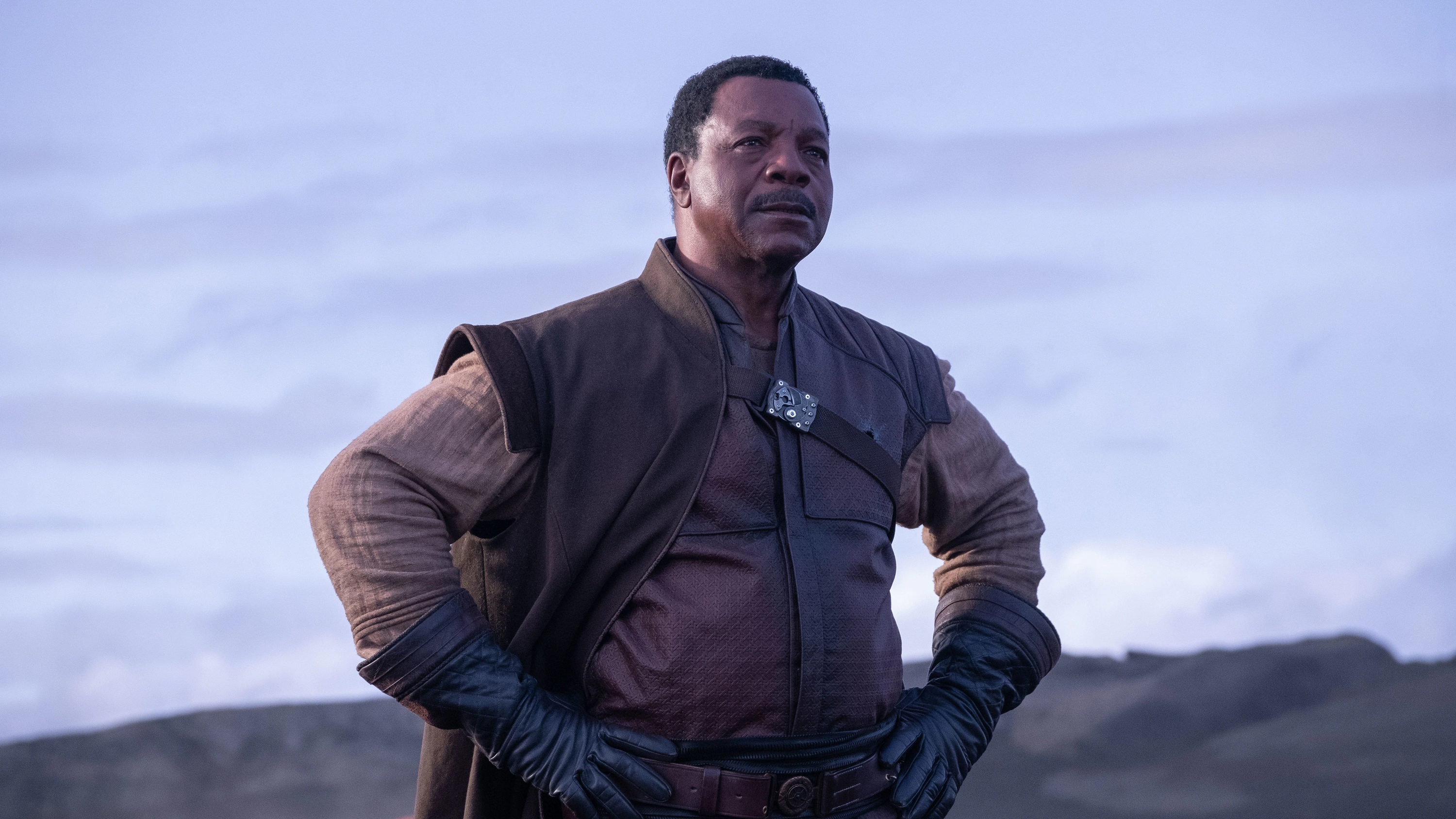 Caption :Greef (Carl Weathers) in Lucasfilm's THE MANDALORIAN. Byline :Melinda Sue Gordon Copyright :© 2018 Lucasfilm Ltd. & ™. All Rights Reserved.