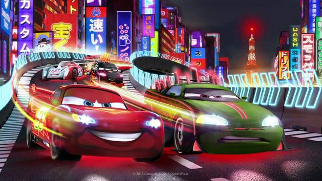 tokyo neon update cars fast as lightning app trailer - Disney Cars 2 Games Online Free For Kids