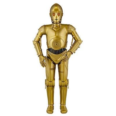 C-3PO Interactive Protocol Droid Figure