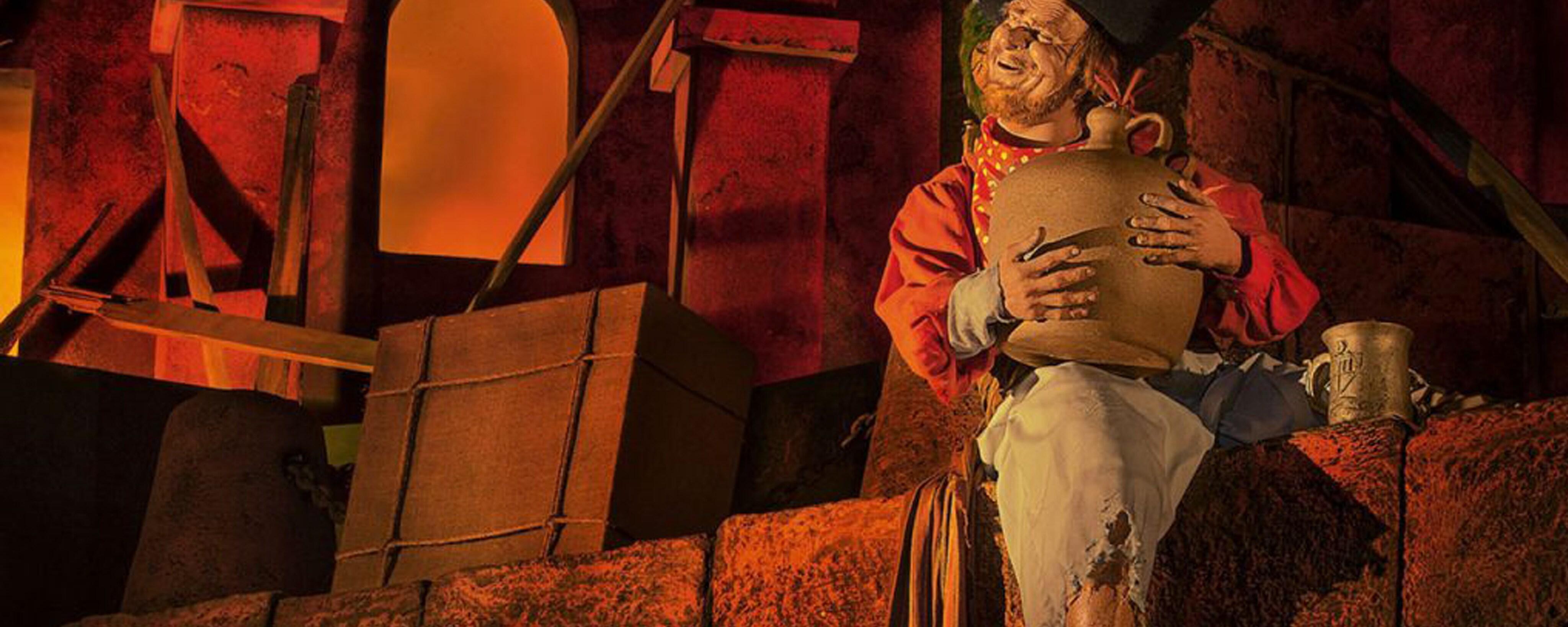 Descubre tesoros y atesorados secretos de la atracción Pirates of the Caribbean en el Disneyland Resort