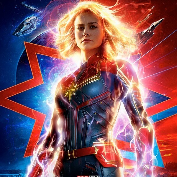 Brie Larson Is So Fierce in the New Captain Marvel Poster and Trailer