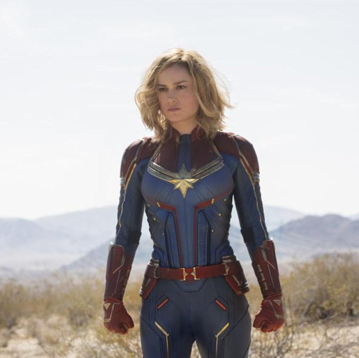 Brie Larson Didn't Feel Nervous on the Set of Captain Marvel