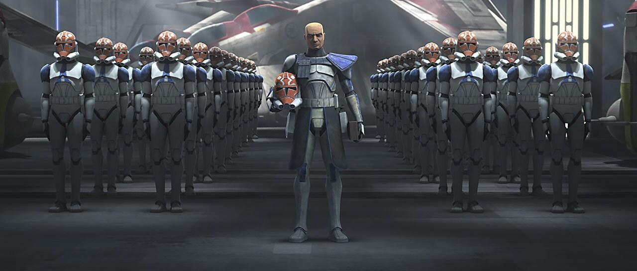 Captain Rex and 501st legion
