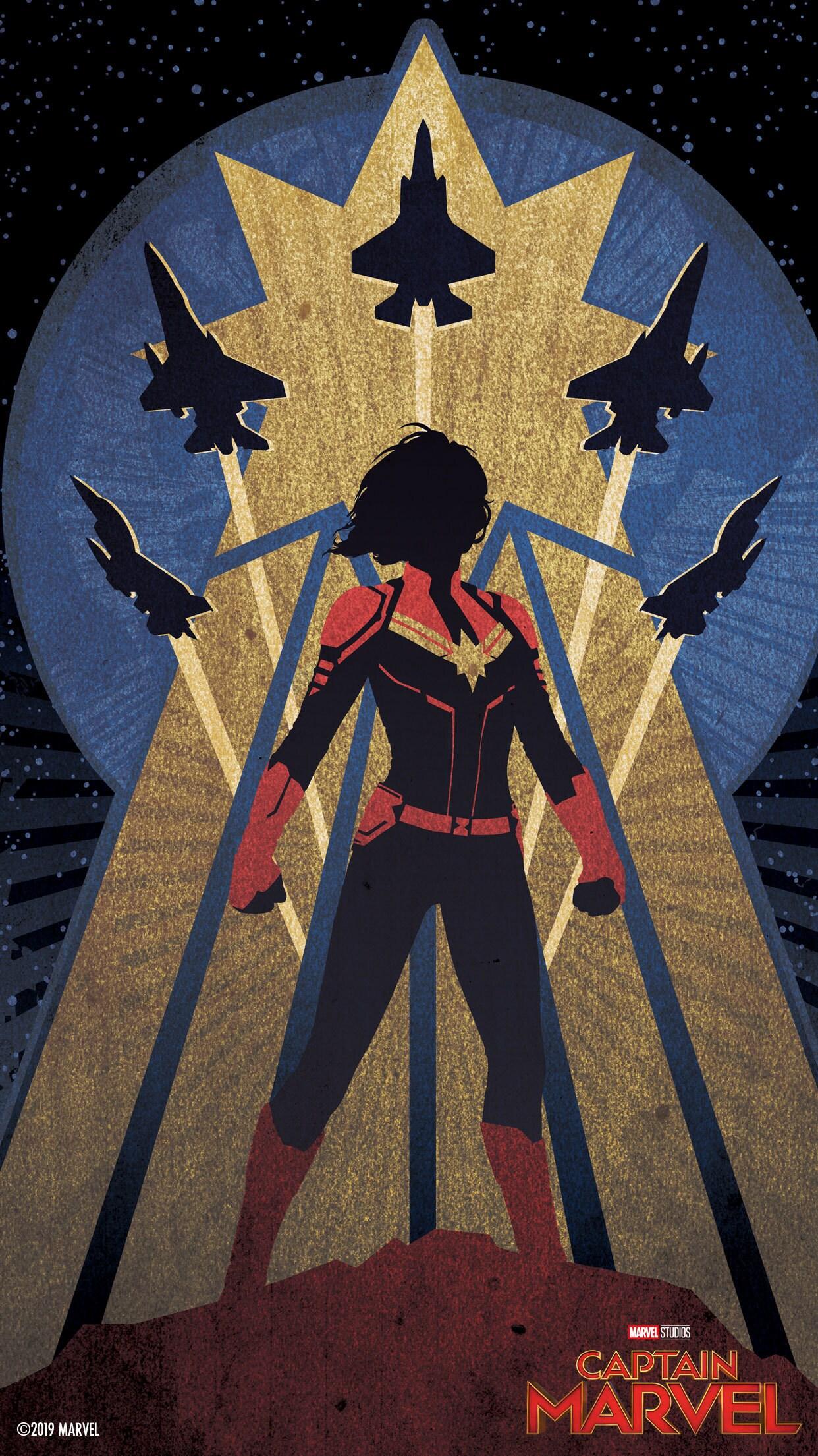 Marvel Studios Captain Marvel Mobile Wallpapers Disney Singapore