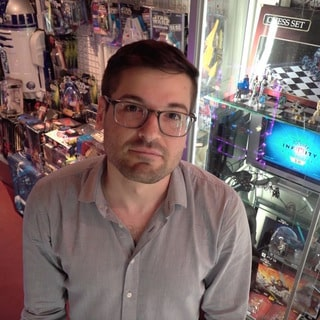 Anthony Carboni Buys Star Wars Toys in Japan