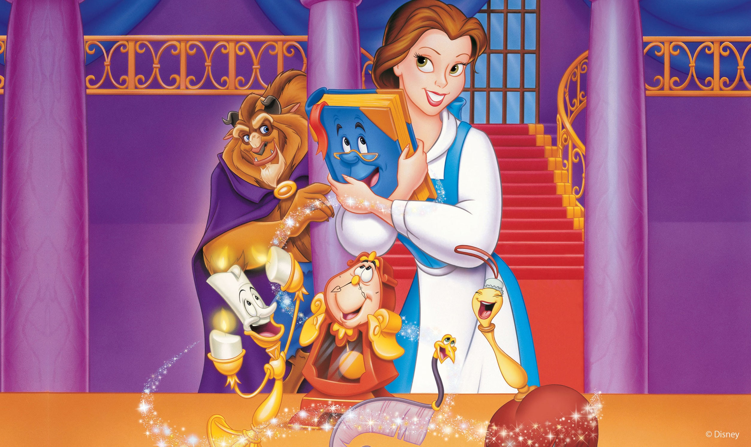 Beauty and the Beast: Belle's Magical World   Movie