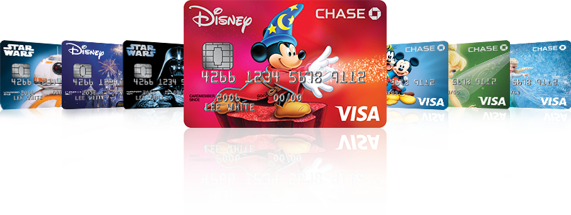 Disney Visa Card with Mickey Mouse