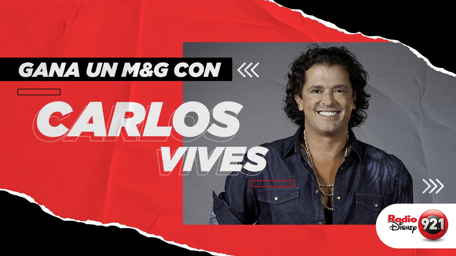 Convivencia virtual con Carlos Vives