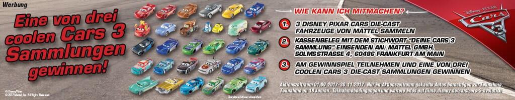 Hero Short - Cars 3 Gewinnspiel Sammlungen