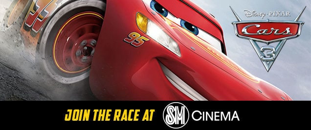 Join the Race at SM Cinema