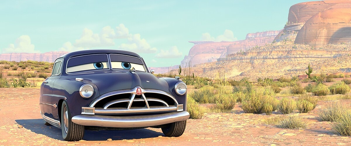 """Doc Hudson from """"Cars"""""""