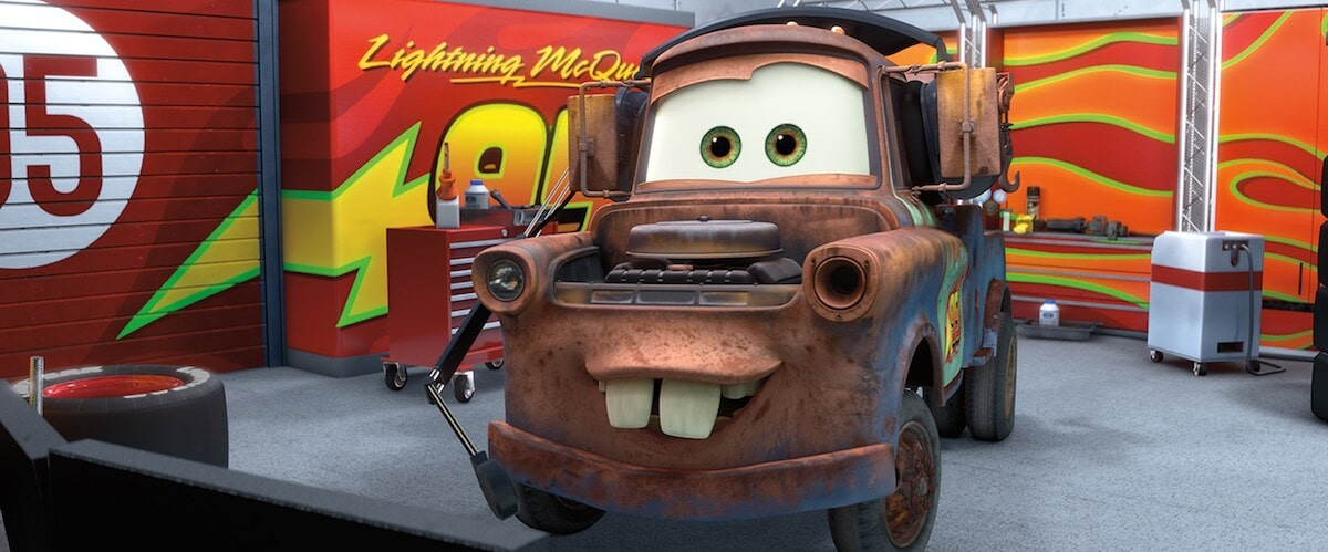 """Mater from """"Cars"""""""
