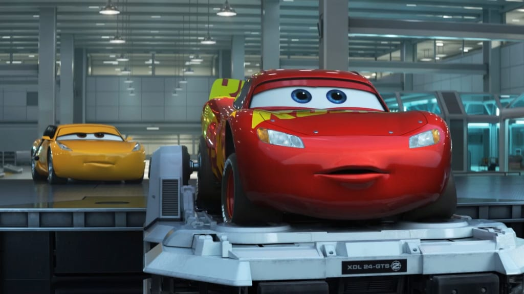 "Cars 3 Featurette ""Tech"""