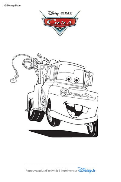 Coloriages martin disney coloriages fr - Coloriage martin cars ...