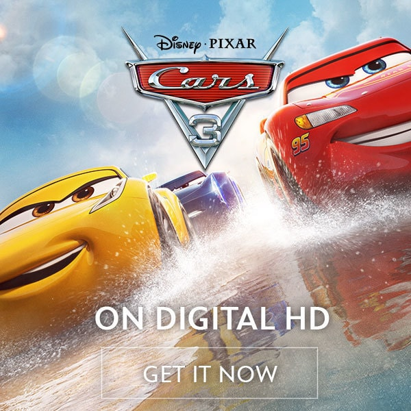 Cars 3 - On Digital HD