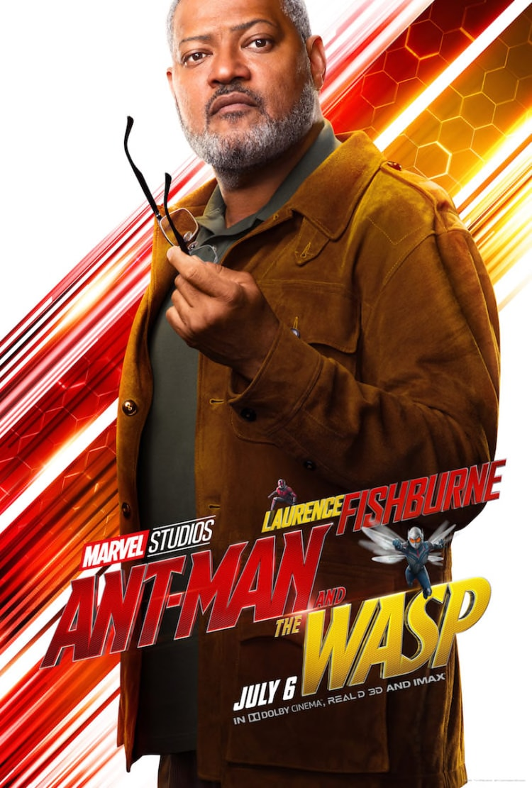 Ant-Man and the Wasp Laurence Fishburne Character Poster