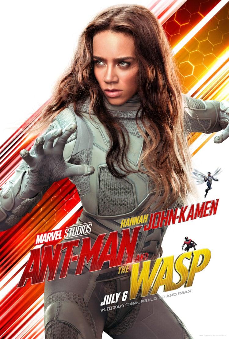 Hannah John-Kamen Character Poster