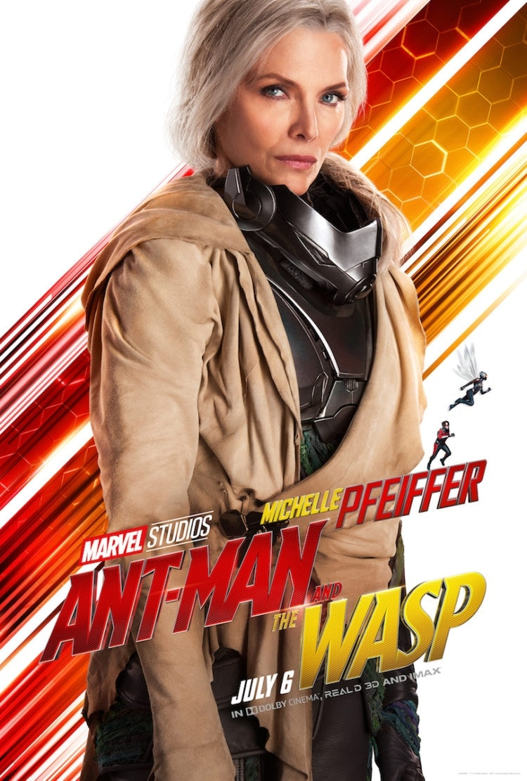 Michelle Pfeiffer Character Poster