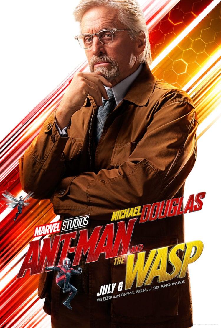 Michael Douglas Character Poster