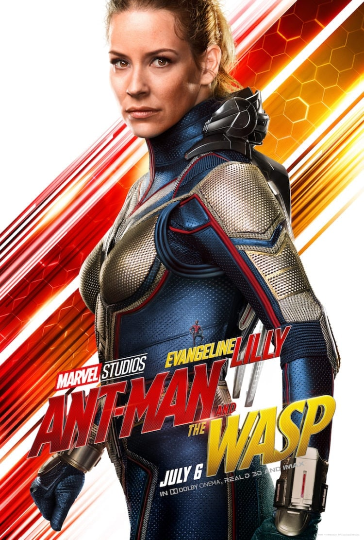 Evangeline Lilly Character Poster