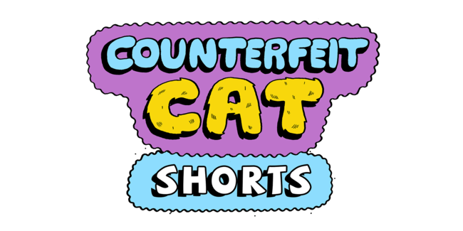 Counterfeit Cat Shorts
