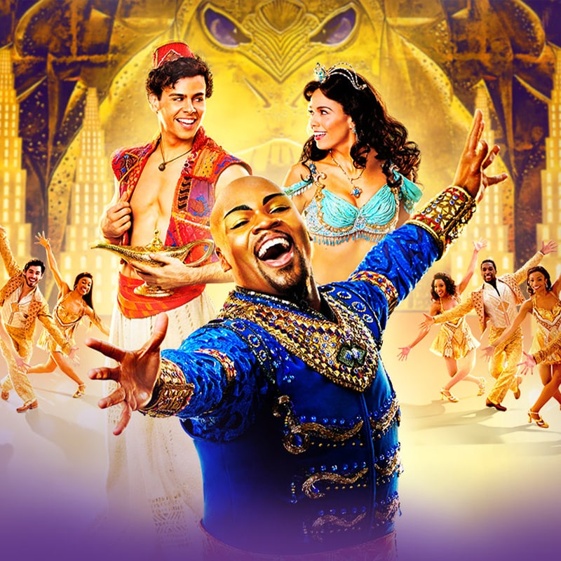 Aladdin on Broadway keyart
