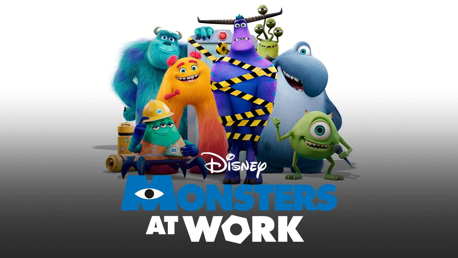Monsters at Work keyart