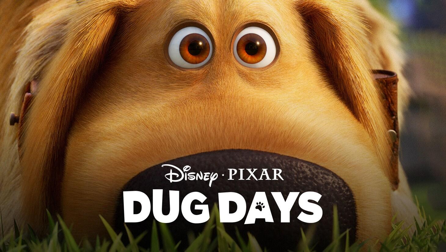 Dug the dog from Pixar Animation Studios' Dug Days