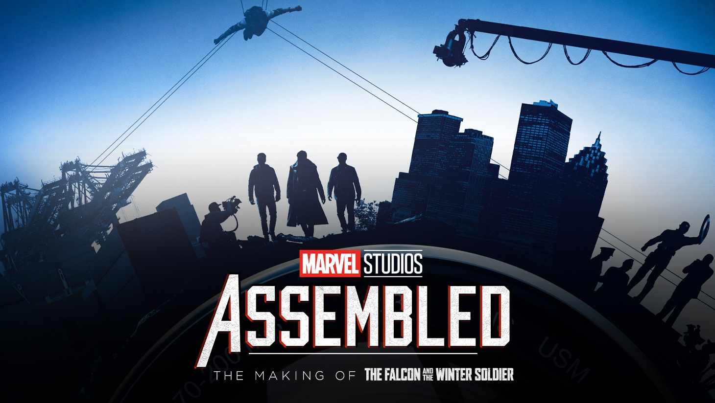Marvel Studios Assembled: The Making of The Falcon and The Winter Soldier keyart
