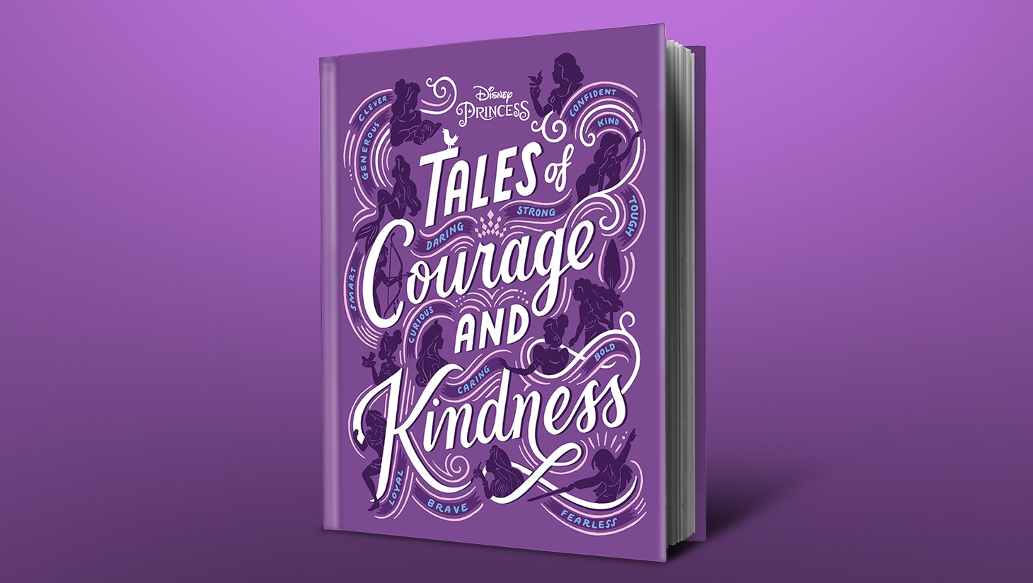 Disney Princess Tales of Courage and Kindness hardcover book