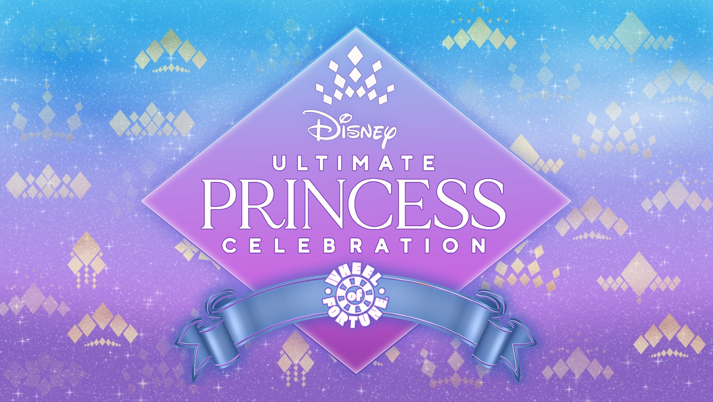The Ultimate Disney Princess Celebration Wheel of Fortune graphic