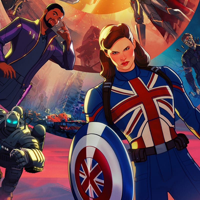Marvel Studios' What If...? keyart
