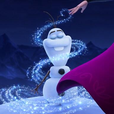 Once Upon a Snowman keyart